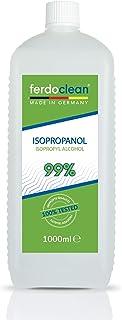 ferdoclean® isopropanol alcohol 99,9% - 1000 ml | IPA 2-propanol isopropylalcohol isopropyl | Reinigingsmiddel 1L