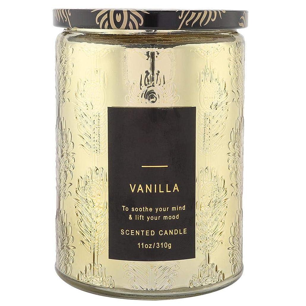 精巧な野望冷笑するキャンドルエッセンシャルオイル、デリケートな香りのキャンドルバニラウイスキーワックスソイキャンドルストレスリラクゼーションスパ用エッセンシャルオイル