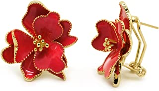 Best red enamel earrings Reviews