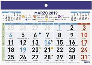 Calendario Numeros Grandes Septiembre 2019.Amazon Es Calendario De Pared Numeros Grandes