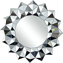 HUIHUOZI Exquisite Goods Bathroom Dressing Mirror Mirror Hanging on The Wall Bedroom Wall Mirror Porch Decorative Mirror S...