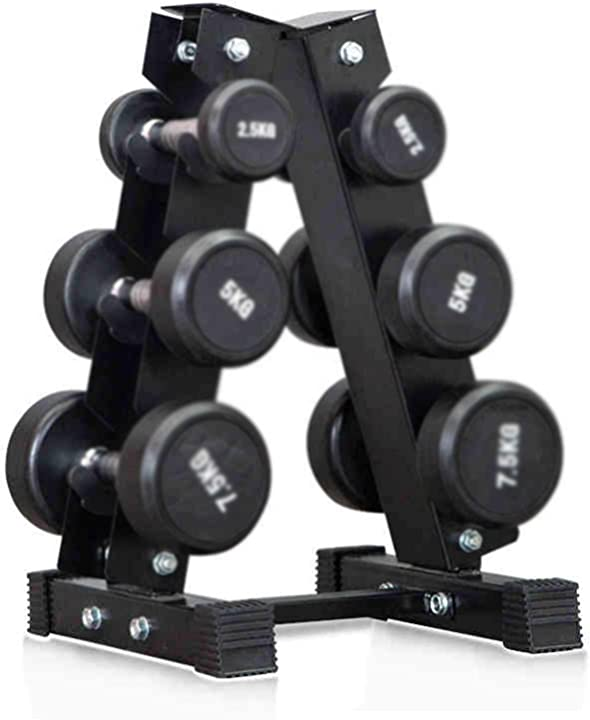 rastrelliera manubri 3 livelli in acciaio - gymeijyg rack - gym - fitness - palestra b08qcsg9xs