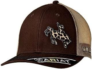 Ariat Women's Leopard Bronc Rider Cap