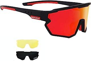 Sports Sunglasses Cycling Glasses Polarized Cycling, Baseball,Fishing, Ski Running,Golf