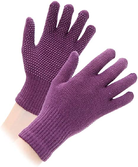 Shires Cotton Pimple Gloves Kids