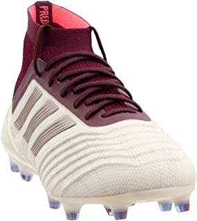 Womens Predator 18.1 Firm Ground Soccer Casual Cleats, Off White, 8