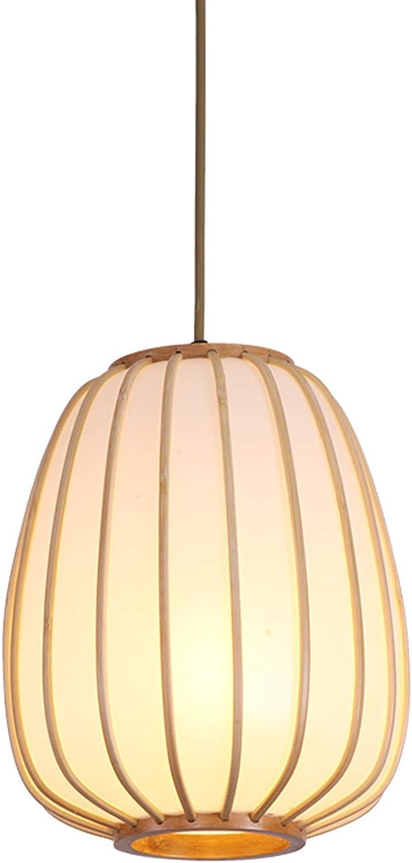 Japanischen Stil Bambus Pendelleuchte Tee Wohnzimmer Wohnzimmer Esszimmer Deckenleuchte Holz Dekoration Leuchte Einstellbare Kronleuchter (gre   A)