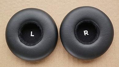 Replacement Ear Pad Earpads Repair Parts for AKG Y50 Y50TEl Y55 Y50bt Y50Dj Headphones Earmuffs Cushion (Black)