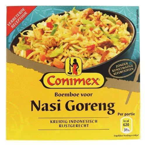 Conimex Boemboe Nasi Goreng / Kruidig Indonesisch rijstgerecht 2 Box x 3.5oz/95gr by Conimex