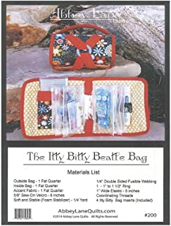 Abbey Lane Quilts Itty Bitty Beatle Bag Ptrn