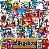 CollegeBox Care Package (45 Count) Snacks Food Cookies...