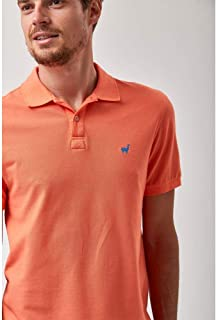 Polo Lhama Stretch - Coral