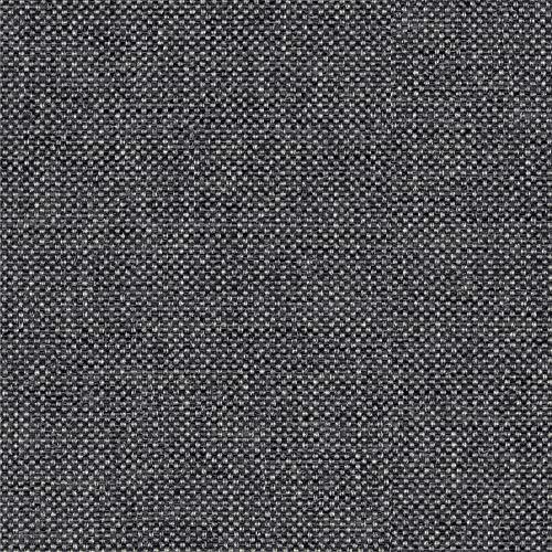 NOVELY® Oxford 330D | 1 lfm | Leinen Look Polyester PU wasserabweisend Mélange Polsterstoff (02 Graphit)