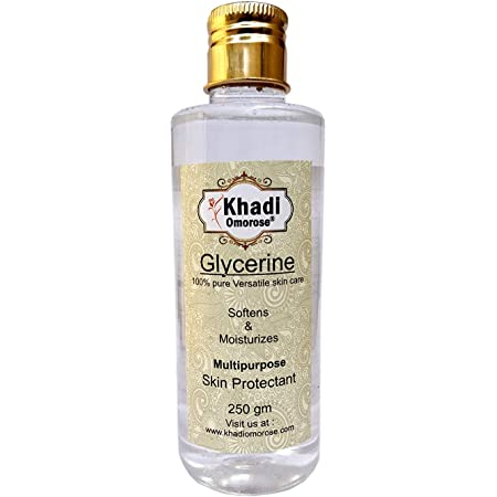 Khadi Omorose Pure Uncented Glycerine For Soft And Mosturize Skin- 250 Grams
