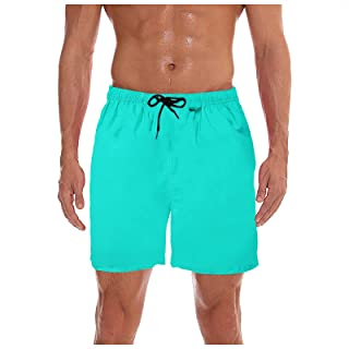 Men's Shorts Swim Trunks Board Shorts Workout Running Beach Short Pants Swimming Waterproof Quick Dry Surfing Shorts