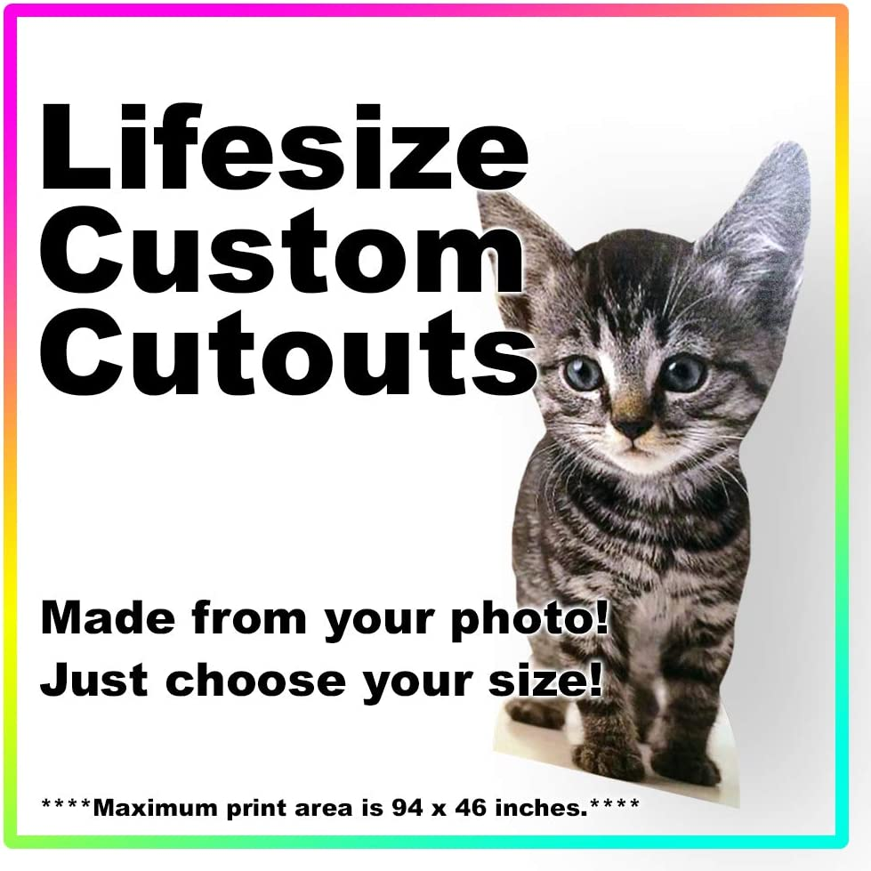 Lifesize Custom Cardboard Cutout Standee 市場 - 送料無料 激安 お買い得 キ゛フト Photo Size Your Life