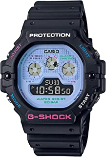 ساعة جي- شوك انالوج رقمية للرجال من كاسيو، DW-5900DN-1DR