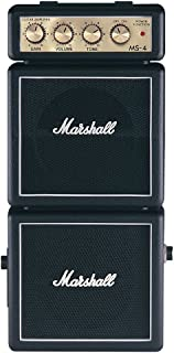 Marshall MS4 Battery-Powered Mini Micro Full Stack Guitar Amplifier