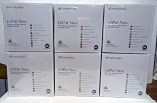 Pack of Six: Pharmanex LifePak Nano 60 Packets Box x6