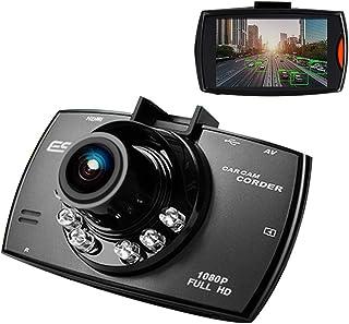 Mini Auto Dashcam 1080P FHD Autokamera DVR 170 ° Weitwinkel,2.8'' Bildschirm Dashcam Autokamera, Nachtsicht/G Sensor/Loop Aufzeichnung/Bewegungserkennung/Parkmonitor   Schwarz