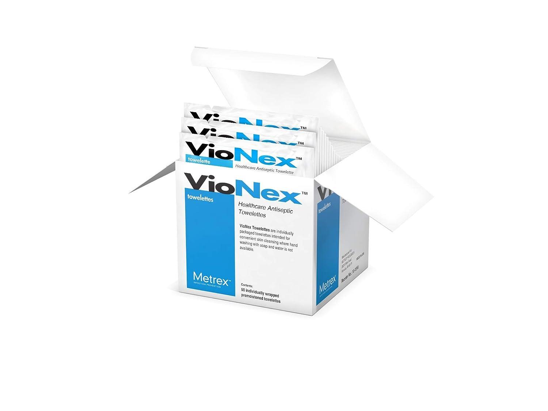 Metrex VioNex Antiseptic Sanitizing supreme Towelettes cs 10 bx 50 Cheap mail order sales