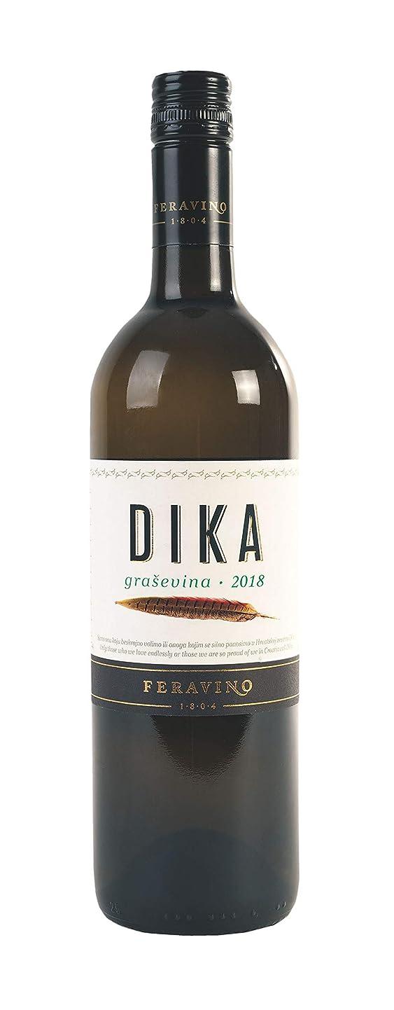 刺します賢明な直接フェラヴィノ(Feravino)ディカ?グラシェヴィナ(DIKA Gra?evina) 2018 年 クロアチア スラヴォニア産 グラシェヴィナ(ウェルシュリースリング)100% 辛口 白ワイン 750ml