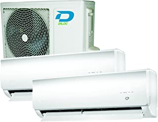 Duo Multi Split 12000 + 12000 30 + 30 m² Aire Acondicionado DILOC Compresor Sharp a + +