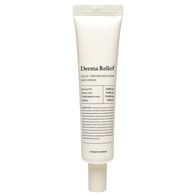 FORETDERM Facial Cream Max 64% OFF Ranking TOP5 for Sensitive Skin Fl 1.35 Fragrance Oz