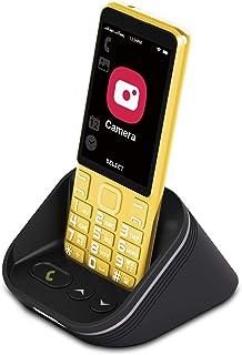 Cell Phone for Seniors 4G/LTE Unlocked, Tianhoo 4G Senior Cell Phone Unlocked, Dual Card Dual Standby, Senior Phone Unlock...