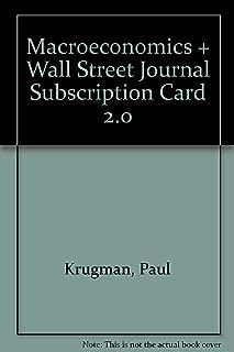 Macroeconomics + Wall Street Journal Subscription Card 2.0