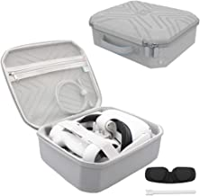 Pinson Hard Carrying Case for Oculus Quest 2 / Quest VR Gaming Headset and Controllers Accessories Protective Cover Storag...