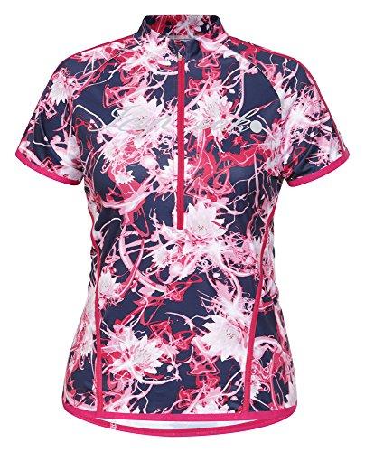 ICEPEAK–Maglietta da Donna Felicia, Donna, T-Shirt Felicia, Rosa Caldo, 38
