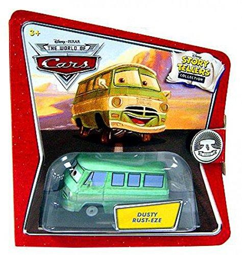 Disney Pixar - CARS - Movie - Story Tellers Collection - Die-Cast 1:55 - Dusty Rust-Eze - Aufklappkarte mit Klettband - OVP