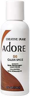 Adore Semi-Permanent Haircolor #056 Cajun Spice 4 Ounce (118ml) (2 Pack)