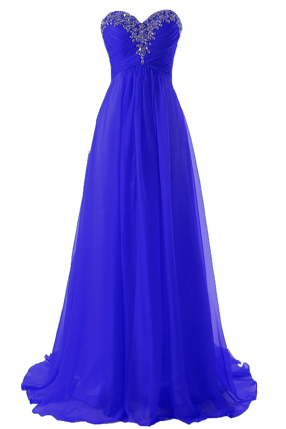 Available at Amazon: JAEDEN Prom Dress Bridesmaid Dresses Long Prom Gowns Chiffon Formal Evening Gown A line Evening Dress