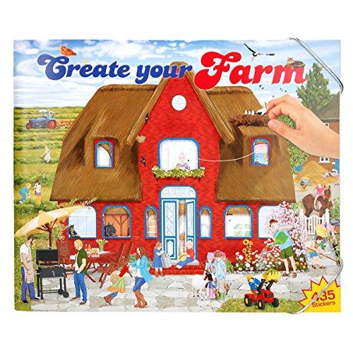 Trend Import Create Your Farm - Malbuch mit Stickern