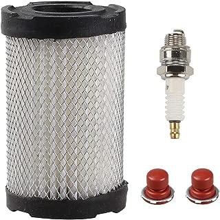 Trustsheer Air Filter with Spark Plug Fuel Filter fit Tecumseh 35066 740019B 740095 Sears 10096 63087A Craftsman 33342 63087A Lesco 050128 Partner PR1011006 Oregon 30-301 Stens 100-222 Lawnmower