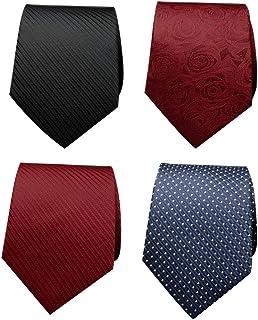 Cravate Fermeture Éclair Cravate Paresseux Pour hommes Polyester Soie Classique Business Style Réglable