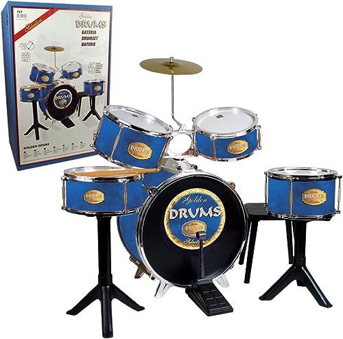 REIG- Batterie oren Drums, 727
