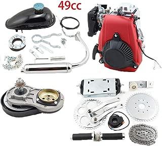 49cc 4 Stroke Engine Motor Kit, Bike Engine Kit 4 Stroke, Gas Petrol Motorized Bike Engine Scooter for 26