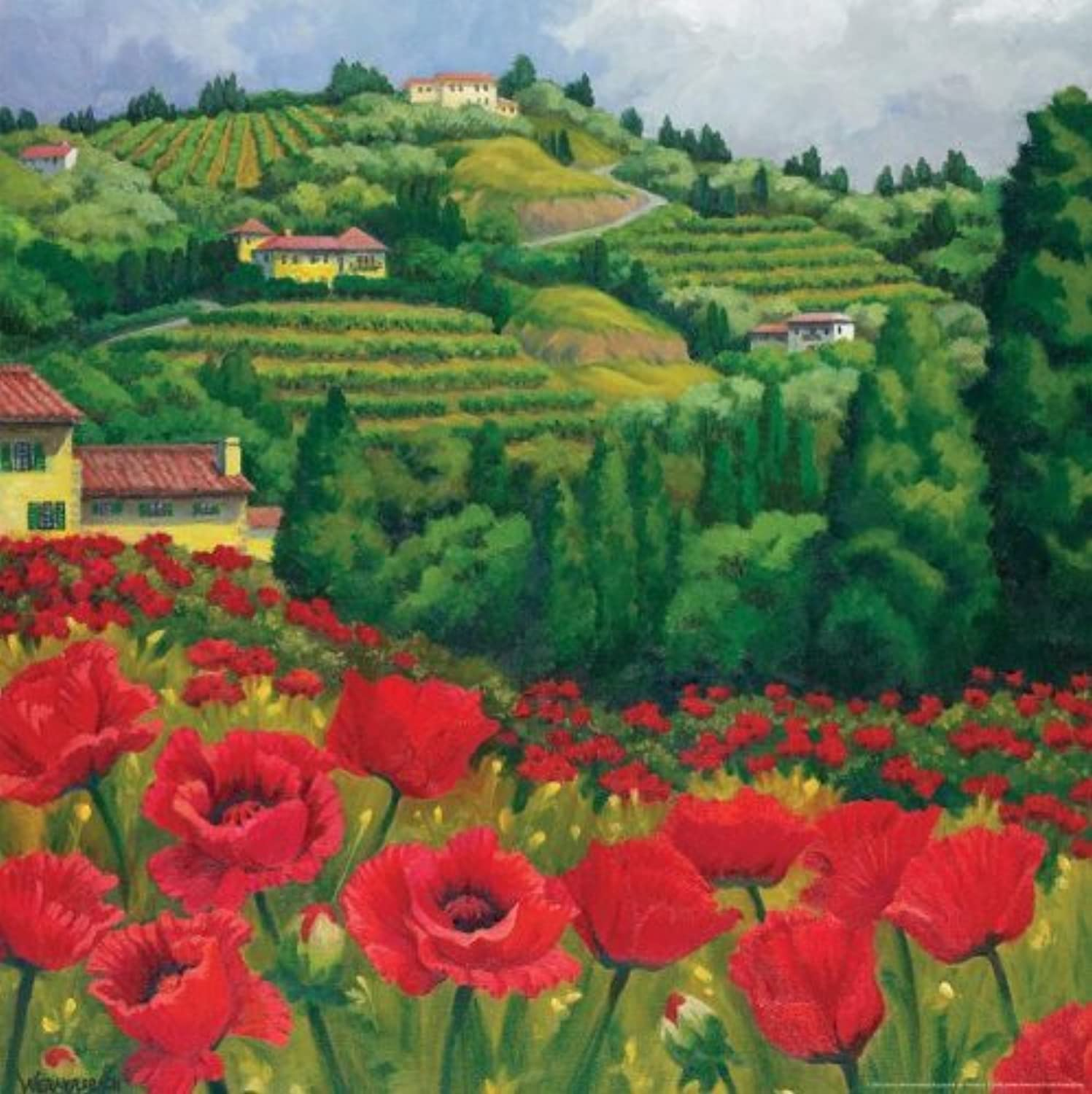 Tuscan rots 750 Piece Jigsaw Puzzle