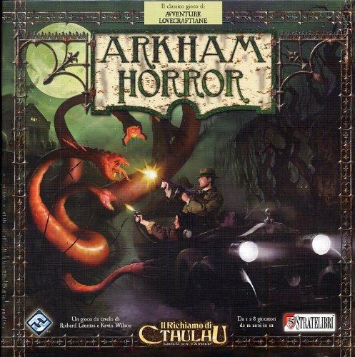 Giochi Uniti Arkham Horror - Juego de Mesa (en Italiano)