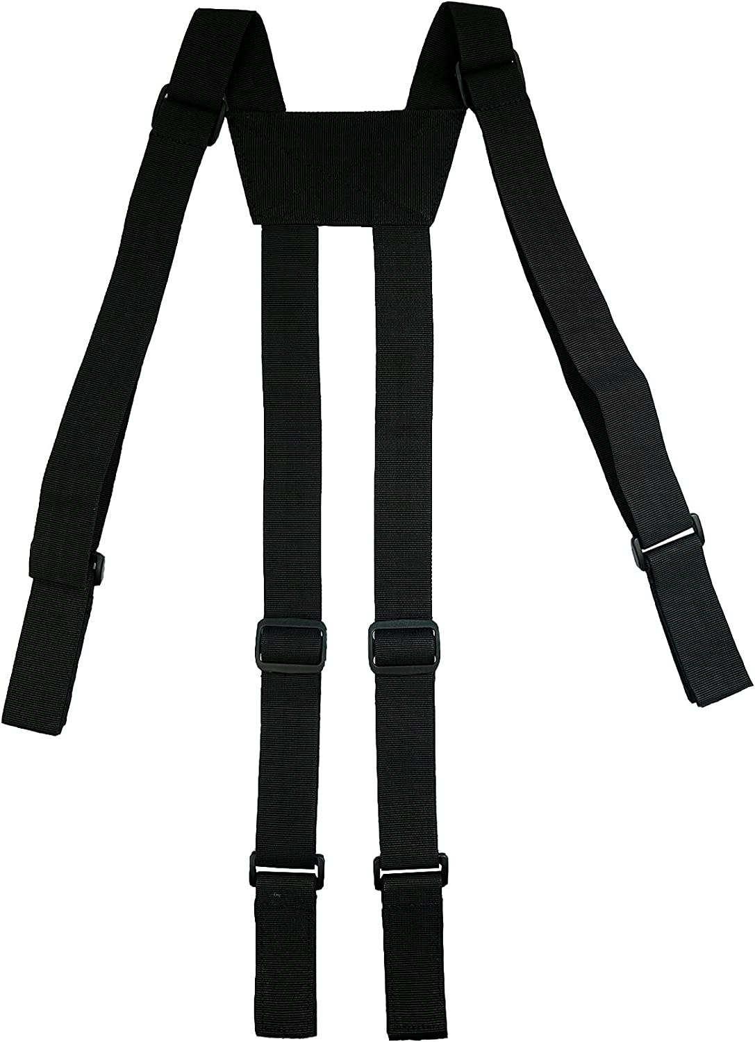 MELOTOUGH Tactical Suspenders Police Suspenders for Duty Belt with Durable Suspender Loop up 2.25 inch