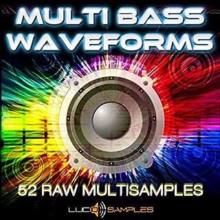 Multi Bass Waveforms - 52 Bass & Synth Multi Samples, SF2, SXTEXS24 DVD non BOX