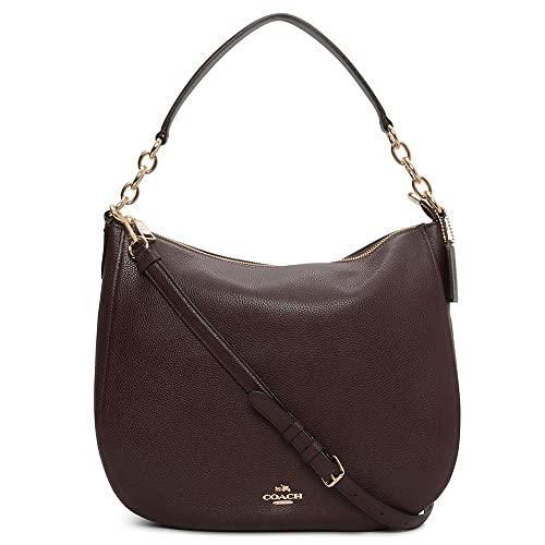f1b3dd7ac COACH Women's Polished Pebbled Leather Chelsea 32 Hobo