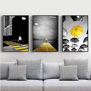 Amazon.it: quadri moderni giallo