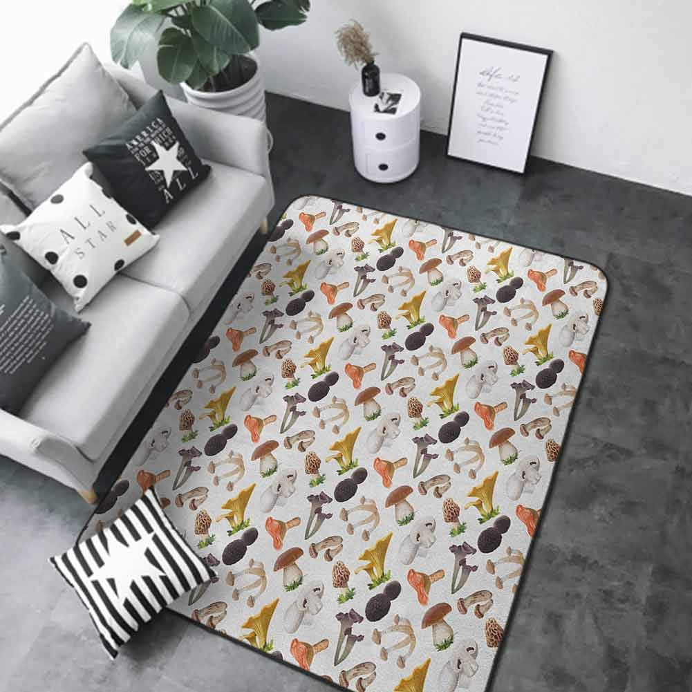 Kitchen Room Floor Mat Rug Colorful Outlet ☆ Free Shipping Realistic Var Mushroom Style Max 85% OFF