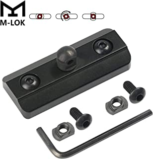XAegis M-LOK Bipod Adapter, Harris Type Bipod Mount Fits on M-Lok System - Mlok Sling Stud - Includes 4 T-Nuts & 4 Screws and 1 Wrench