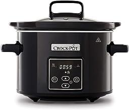 Crock-Pot mijoteuse électrique programmable avec affichage numérique, 2,4litres (2personnes), fonction maintien au chaud...