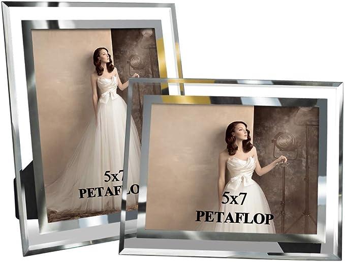 3348 opinioni per PETAFLOP Cornice Foto in Vetro 13x18cm, Set di 2